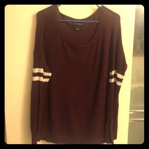 Jersey style soft sweater from AE